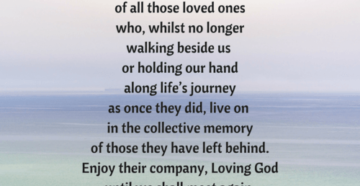 Prayer For A Purposed-Filled Life.