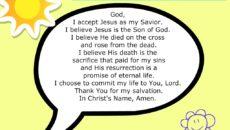 Prayer To Accept Jesus As Saviour