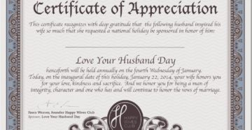 For Integrity In My Husband