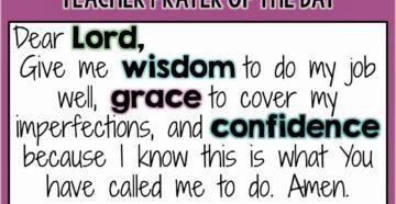 Prayer For Christian Teachers