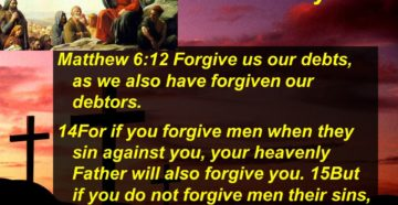 Prayer For Grace To Forgiven As Christ Forgave