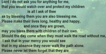 Prayer For Children Who've Lost A Parent