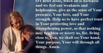 Prayer Against Holiday Depression