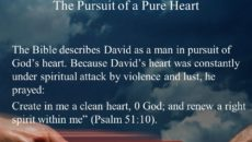Prayer For Purity Of Heart and Humility
