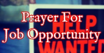 Prayer For A New Job Offer