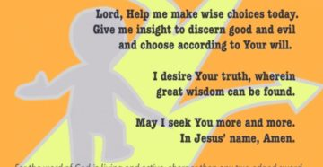 Prayer For Spiritual Discernment