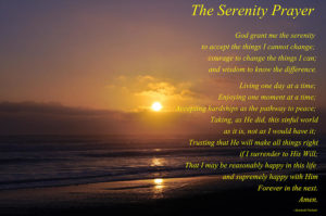 Prayer For A Greater Serenity Of Heart