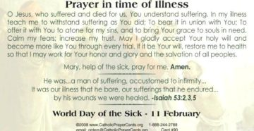Prayer For A Baby's Minor Illness