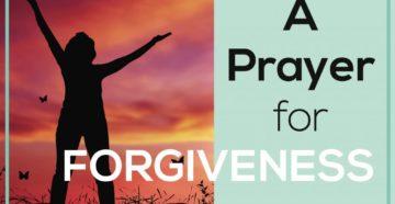 Evening Prayer For Forgiveness