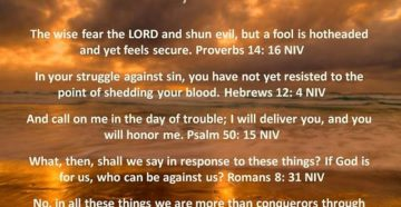 Prayer For Victory Over The Sin Of Gluttony