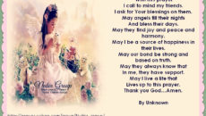 Prayer Of Gratitude For My Friends