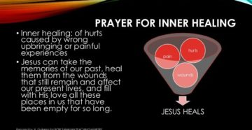 Healing Prayer From Painful Memories