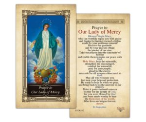 Prayer For All Who Show God's Mercy
