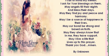 Prayer Of Thanks For A Special Male Friend