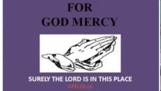 Prayer Of Thanks For God's Mercy