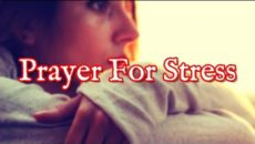 Prayer For Stress Over Health