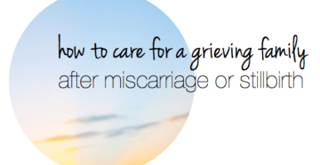 Mother's Prayer Following A Miscarriage/Stillbirth
