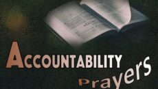 Prayer Accountability in a Christian Home