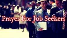 Prayer For Job Seekers