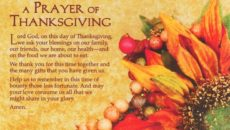 Prayer of Thanksgiving for Friends