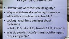 Prayer Of Confession of Sins