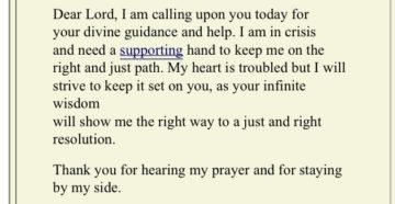 Prayer For Guidance Today