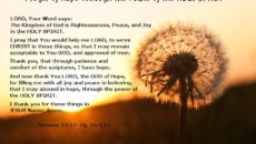 Prayer Of Thanks For My Hope In Christ