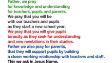 Prayer For Knowledge In School