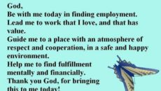 Prayer For My Husband's New Job
