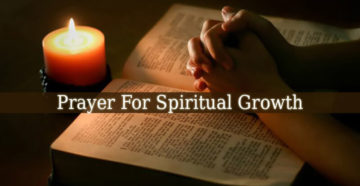 Prayer For Spiritual Awakening and Growth