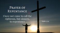Prayer Of Deep Repentance