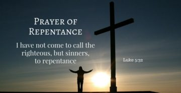 Prayer Of Deep Repentance