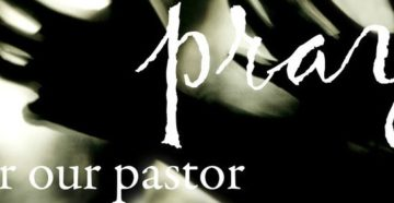 Prayer For our Pastor