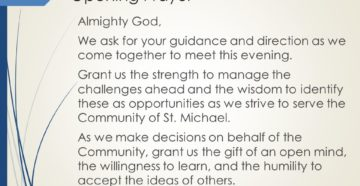 Evening Prayer For Future Guidance