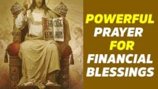 Prayer of Thanks for Financial Blessings