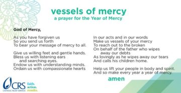 A Prayer To Be A Vessel Of Mercy